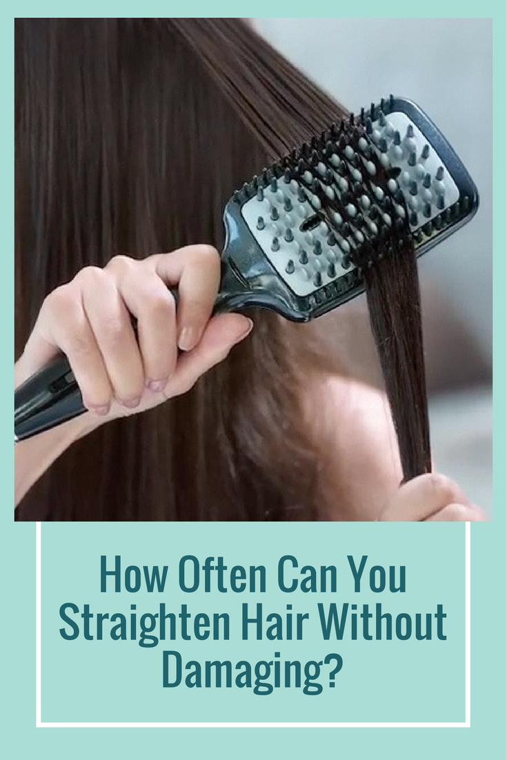 How Often Can You Straighten Your Hair Without Damaging It