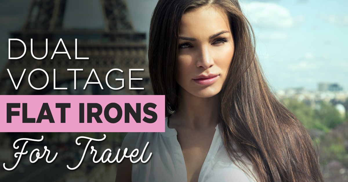 Dual Voltage Flat Irons for Travel